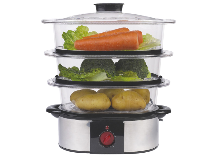 Electric Veggie Steamer ~ My top kitchen essentials for no fuss food prep the