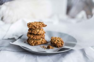 healthy anzac biscuit
